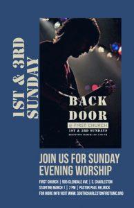 Back door revised